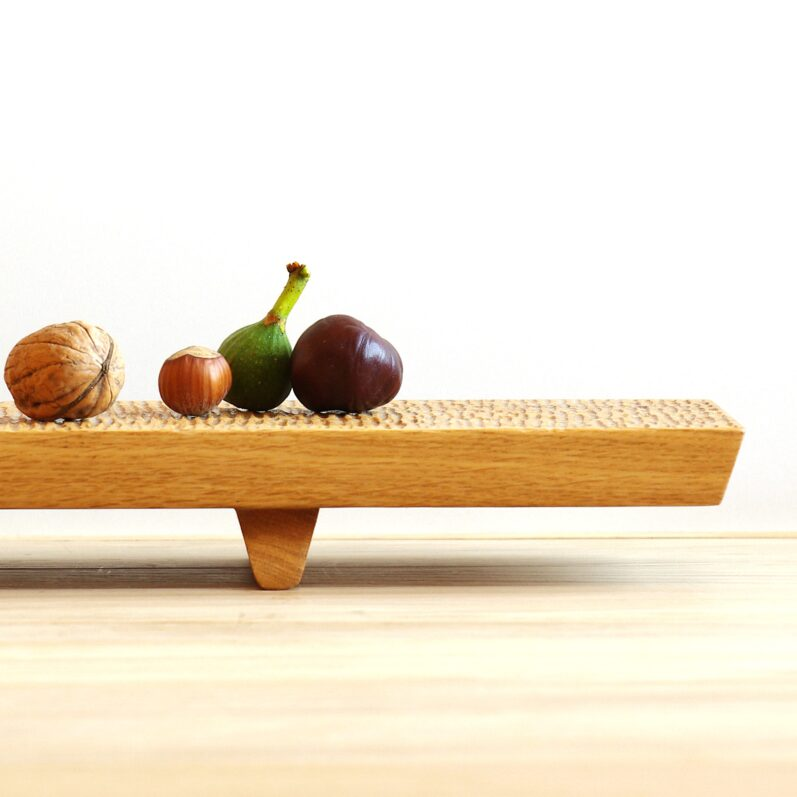 Long Gongfu Wood Platter