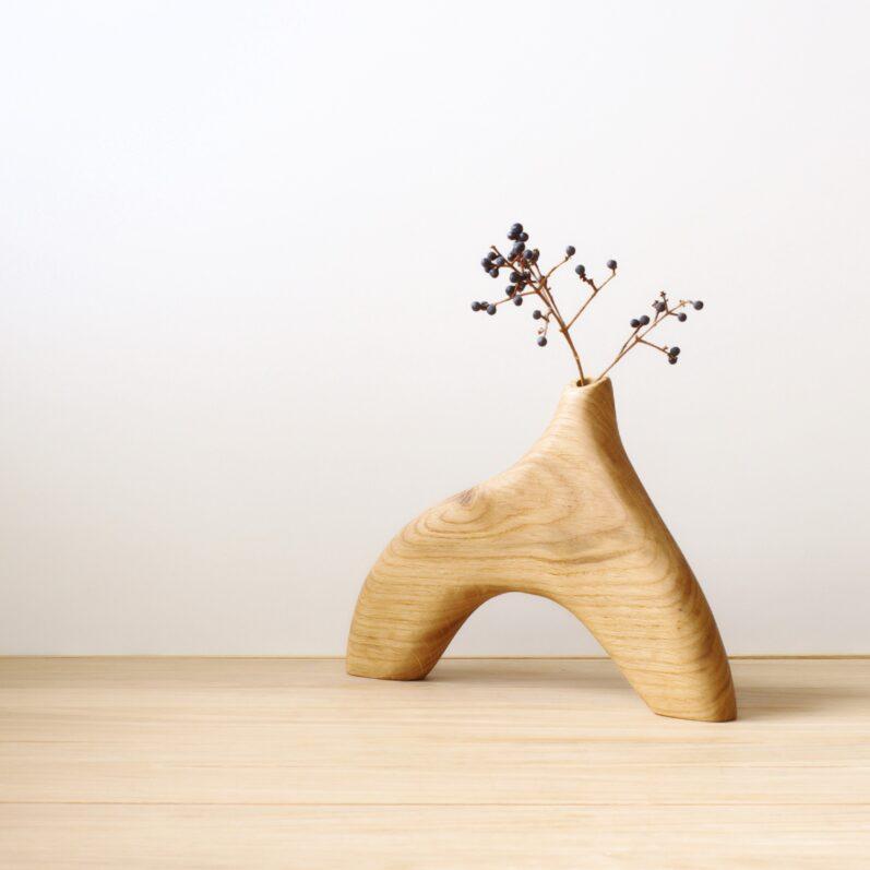 Single Plant Holder Oak
