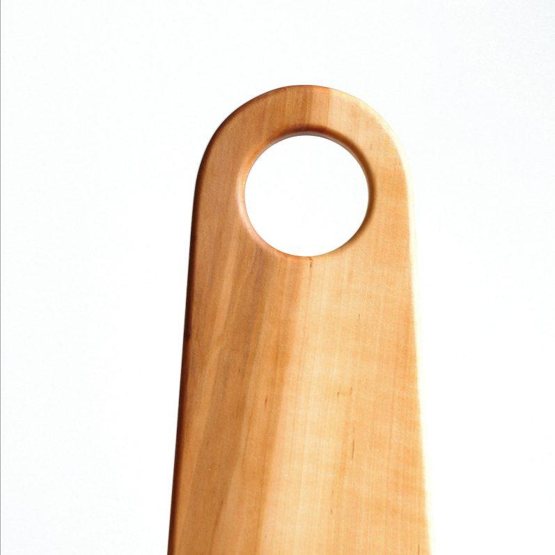 Burnt Orange Wood Platter
