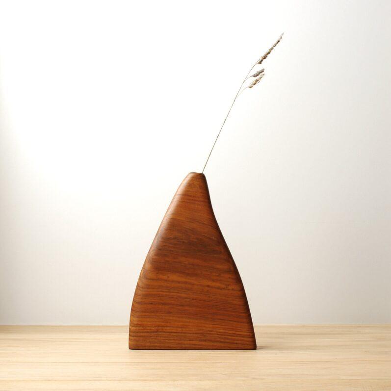 Minimalist Wood Vase
