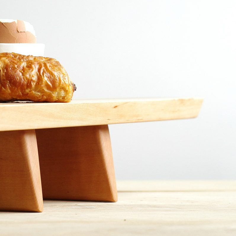 Wooden Cupcake Pedestal